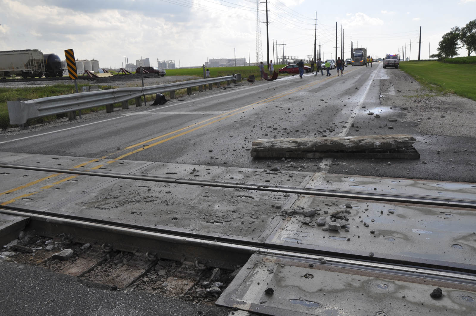 One Person Hurt In Accident At Railroad Tracks News