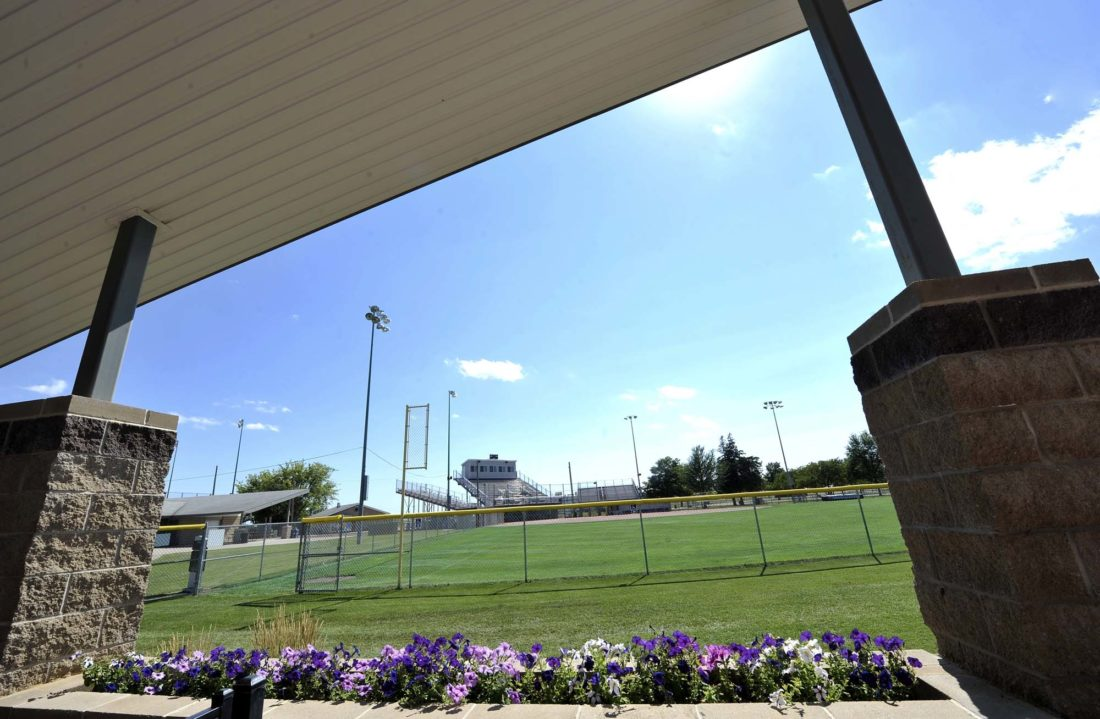 -Messenger photo by Hans Madsen  The state softball tournament takes place at the Harlan & Hazel Rogers Sports Complex.