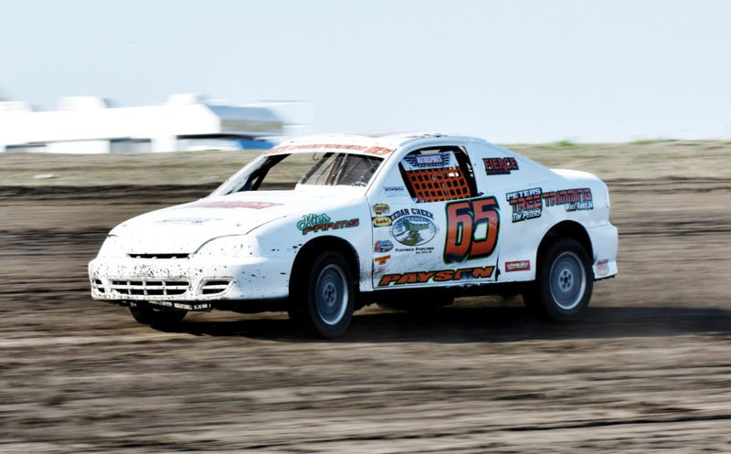 Messenger photo by Britt Kudla  Riley Paysen of Wall Lake is the Sport Compacts points leader at Sports Park Raceway heading into the final week of action.