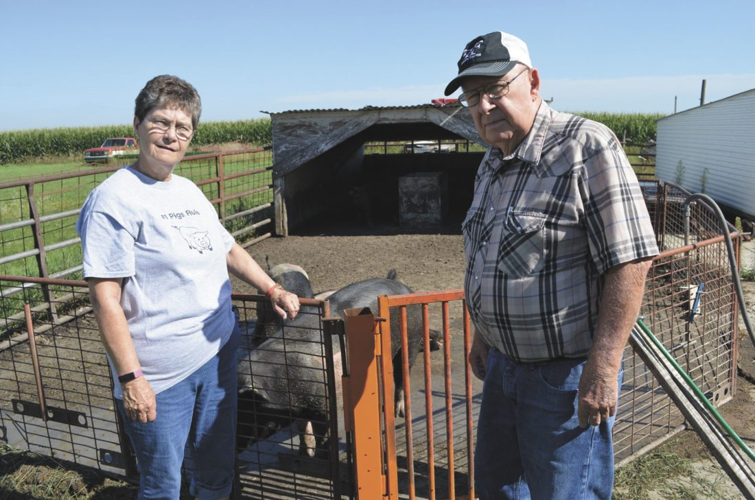 -Messenger photo by Kriss Nelson  Karen and Dennis Fay, of Churdan, will be one of six farm families to be awarded the Way We Live award.