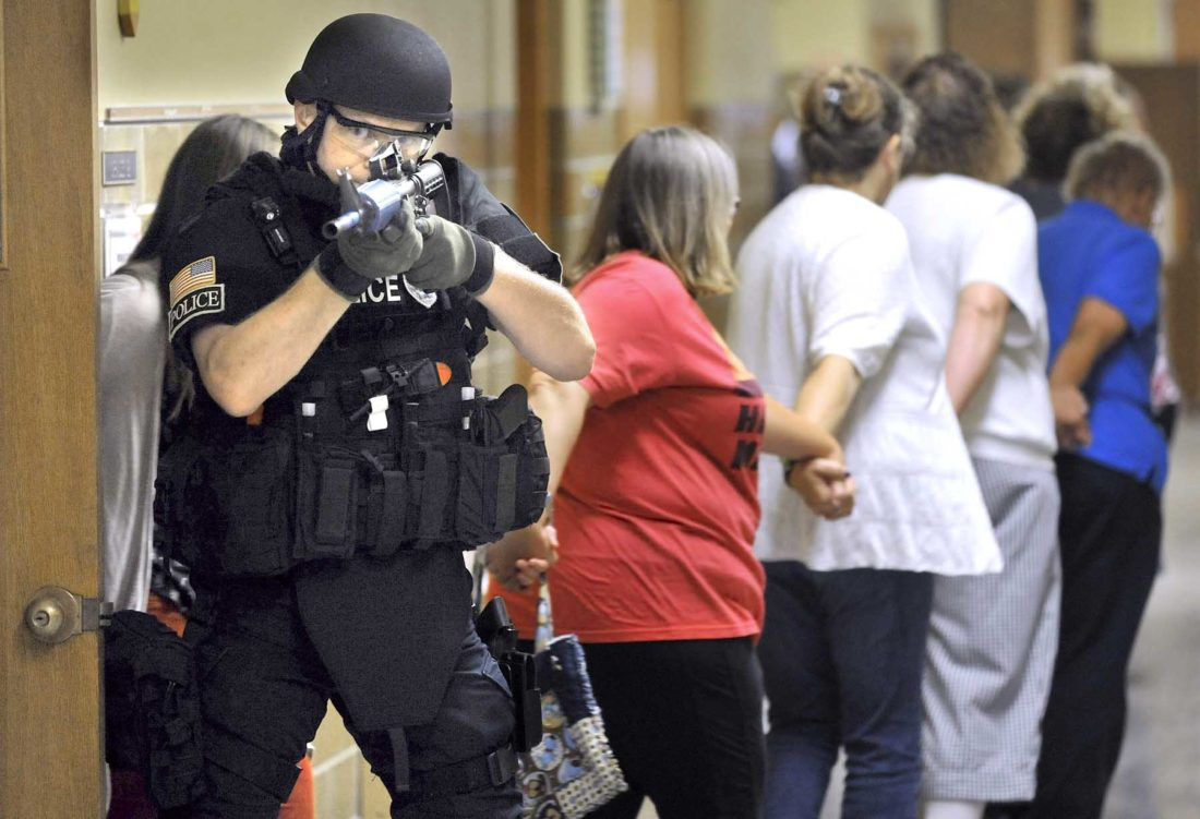 Preparing For An Active Shooter News Sports Jobs