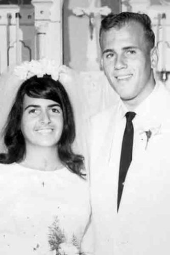 Jackie and Dave Schott in 1967