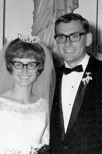 Joleen and Terry Allers in 1967