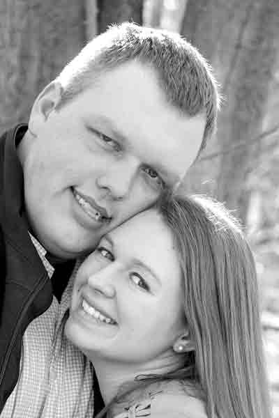 Kyle Larsen and  Abigail Sparks