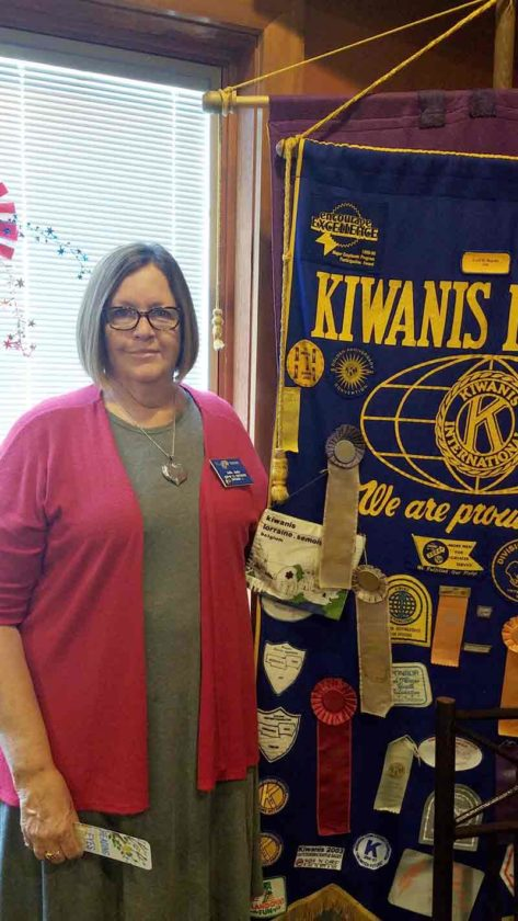 Jodie Janke, member of the Fort Dodge Noon Kiwanis club for 24 years has been selected to be the District 2 lieutenant governor.  She was installed at the annual district convention in August and will serve till August of 2018.