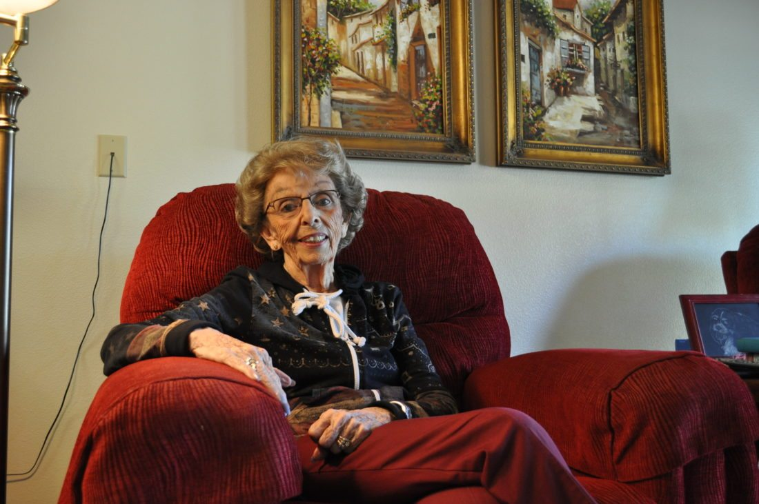 -Messenger photo by Adri Sietstra  Shirley Yeager, 85, of Webster City, survived polio.