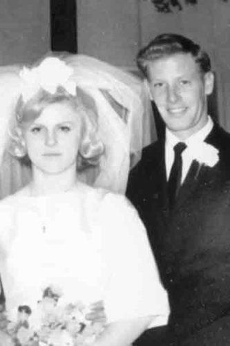 Karen and Lyle Roberts in 1967