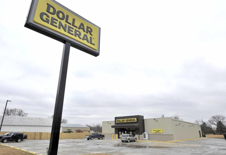 -Messenger photo by Hans Madsen  The new Dollar General store, located on the north side of Dayton, is now open for business.