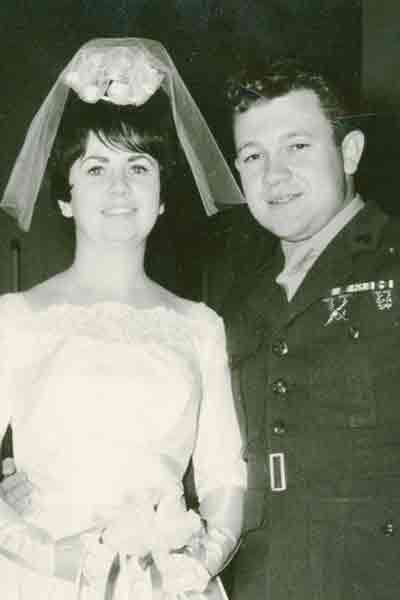Teresa and Doug  Vratny in 1968
