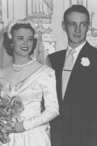 Carolyn and Marvin Poppen in 1953
