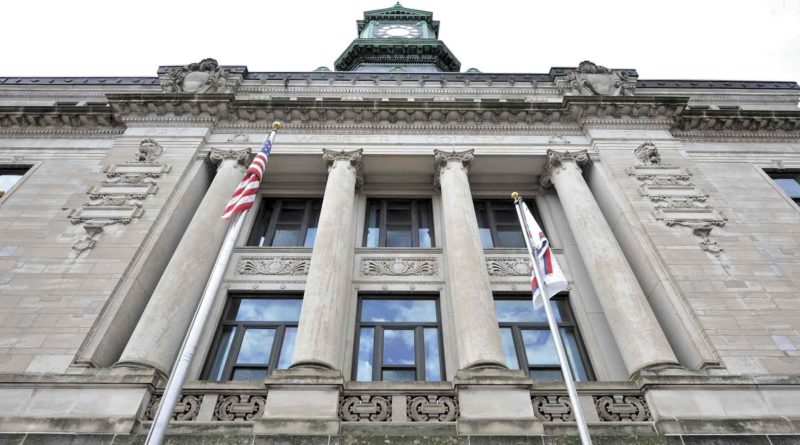 -Messenger file photo  The Webster County Board of Supervisors met Tuesday in the Webster County Courthouse, shown here. The supervisors discussed hog confinement applications.