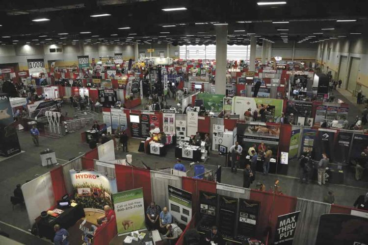 -Submitted photo  More than 300 exhibitors make up a part of the 2018 Iowa Pork Congress. Other highlights of the show are training sessions, social events and youth activities.