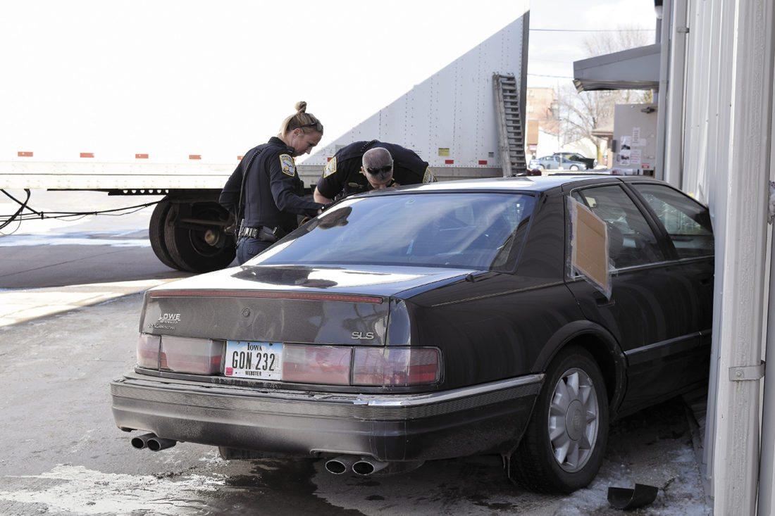 Stolen Car Rams Into FD Family Dollar News Sports Jobs - Stolen car