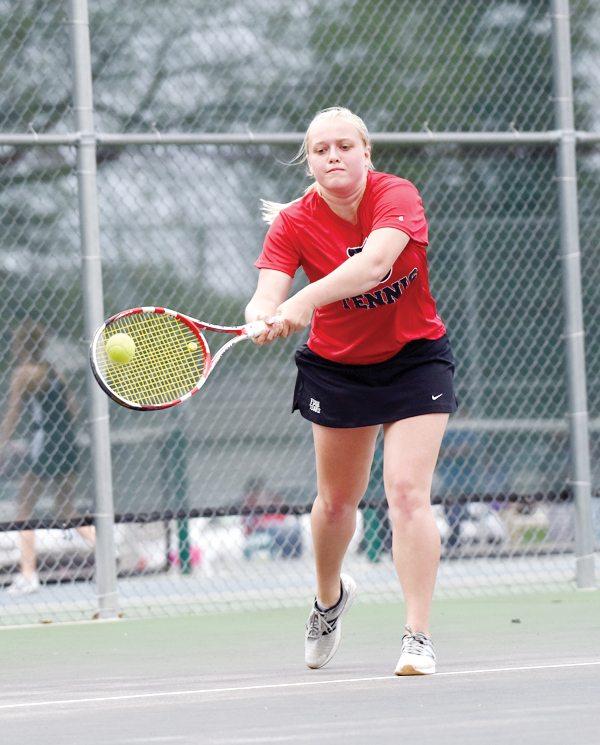 Dodger Girls Play Home Tennis Finale News Sports Jobs