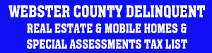 Webster County Delinquent Tax List
