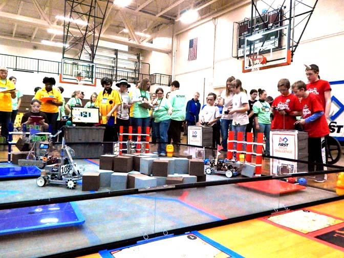 Robot Game Houghton Hosts Robotics Challenge News Sports Jobs