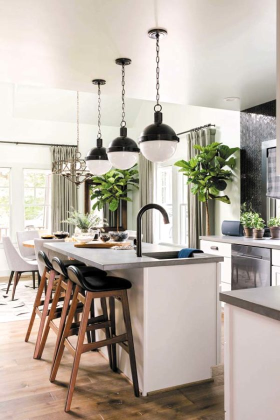 This Undated Photo Provided By HGTV Shows A Portion Of Kitchen In Ann Arbor Mich Concrete Countertops As Shown Here The Urban Oasis 2016