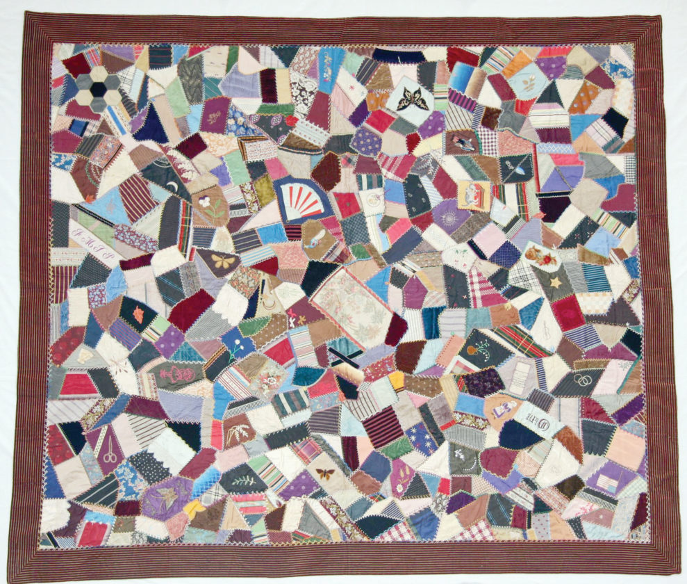 CRAZY FOR CRAZY QUILTS | News, Sports, Jobs - The Mining Journal : history of crazy quilts - Adamdwight.com