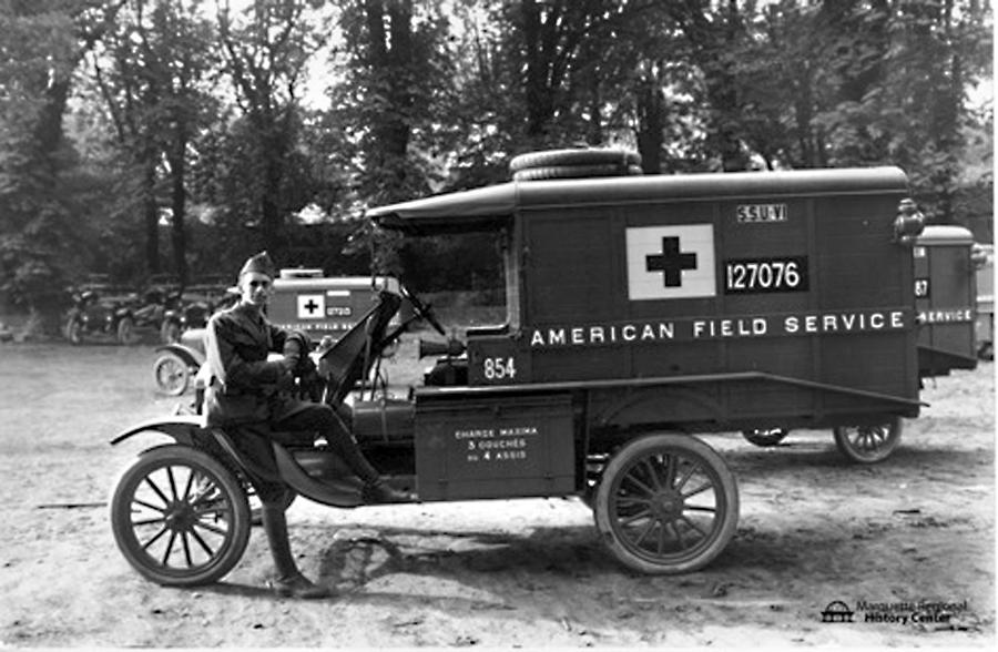 Ambulance drivers of World War I | News, Sports, Jobs - The Mining ...