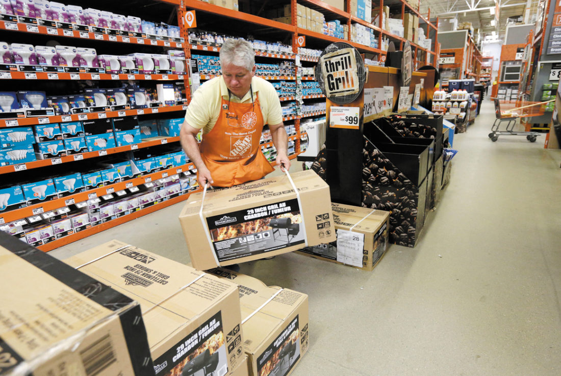 Fertile Ground For Home Depot As Gardening Season Begins News Sports Jobs The Mining Journal
