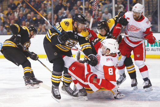 A more healthy Bruins team set to take on Red Wings