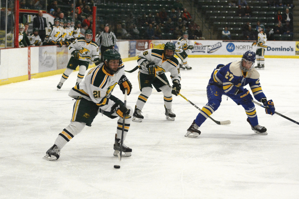 WCHA: Second Period Surge