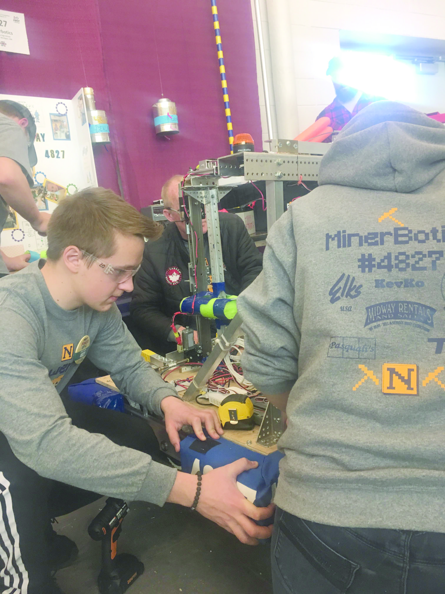 FIRST Robotics  Tournament returns | News, Sports, Jobs - The Mining Journal