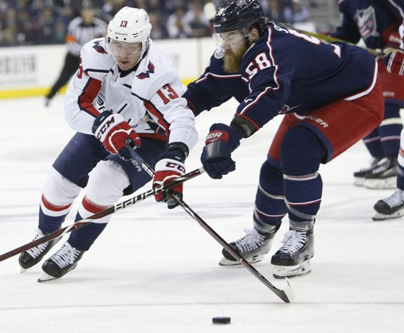 Game 6 Loss Ends Blue Jackets' Season