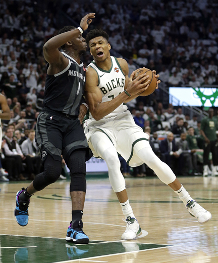 Bucks send Pistons to 12th straight playoff loss
