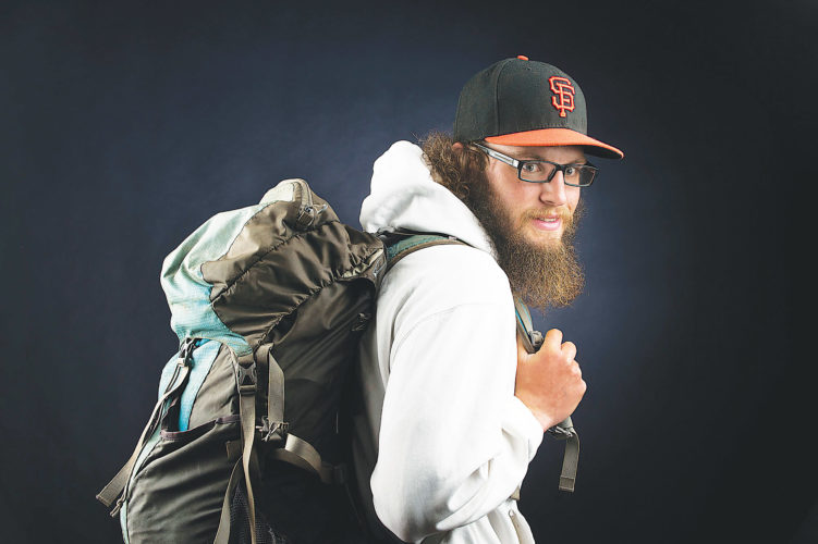 APPhoto  In this Oct. 25 photo, Jeff Garmire poses in Vancouver, Wash. Garmire is among the elite cadre of hikers who have completed the Appalachian, Pacific Crest and Continental Divide trails in a calendar year.