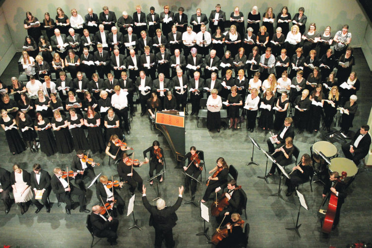 Submitted photo A past performance in Minot of Handel's Messiah.