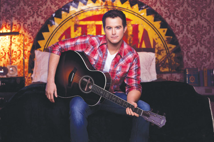 Submitted photo Country music star Easton Corbin will perform at 4 Bears on Dec. 30 at 7 p.m.