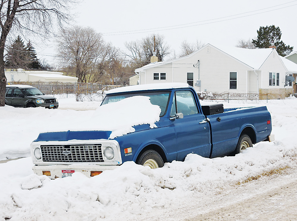 Kim Fundingsland/MDN Vehicles abandoned on streets and avenues in the city cause problems for snow removal crews who must plow around them. City ordinance says the vehicles can be towed and impounded when necessary.
