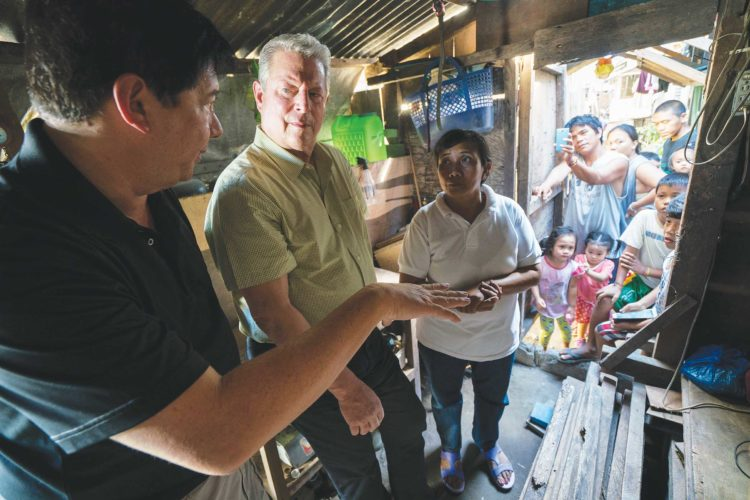 "Submitted Photo  Al Gore appears in ""An Inconvenient Sequel"" by Bonni Cohen and Jon Shenk, an official selection of the Documentary Premieres program at the 2017 Sundance Film Festival. Courtesy of Sundance Institute."