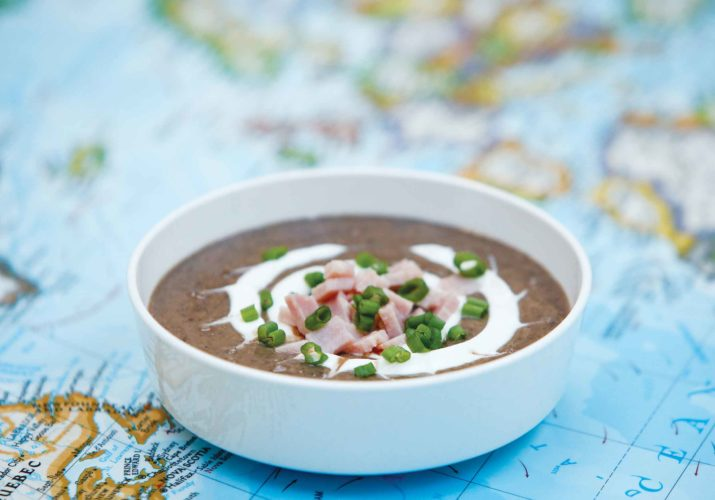 Southern Black Bean Soup