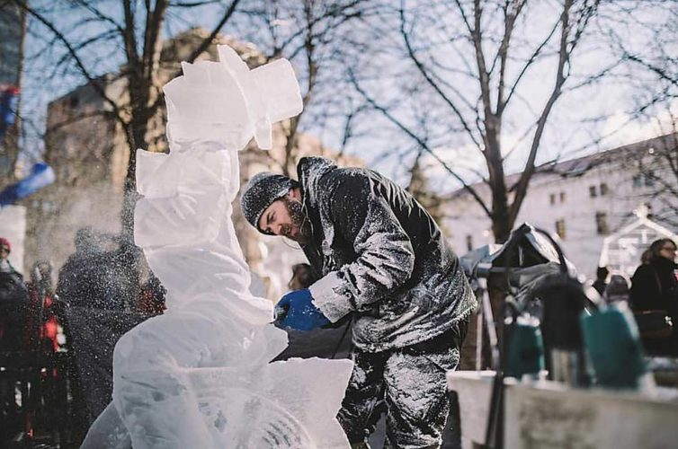 Submitted Photo Award-winning ice carver Trevor Pearson to appear at the second annual Winterfest, Sunday Feb. 12, from 2-6 p.m.