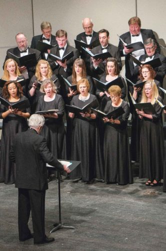 "Submitted Photo  Throughout their masterful showcase, the Minot Chamber Chorale will perform spirited vocals that captures the dynamic spectrum of human emotions ranging from Alice Parker's ""Heavenly Hurt: Songs of Love and Loss"" to Rene Clausen's ""Festival Te Deum."""