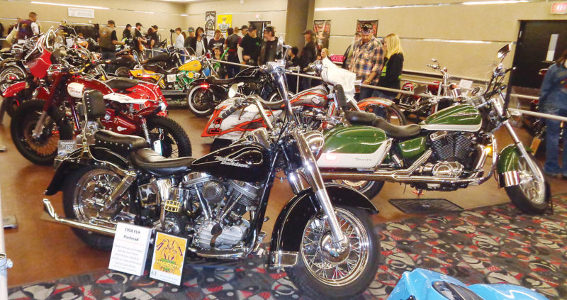 Submitted Photo  The sight of Harley-Davidsons, Nortons and several other notable brands will be on display during the Ramblers 2017 Magic City Bike Show.