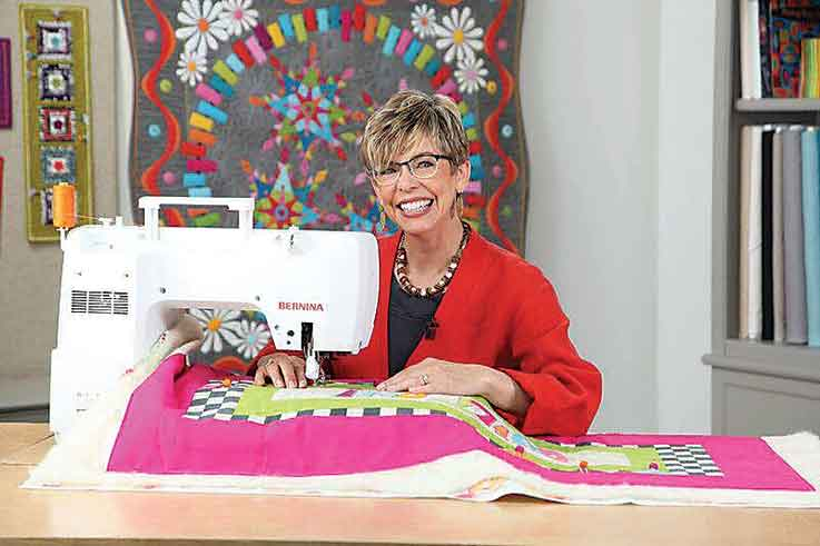 Submitted Photo  Susan Cleveland, a celebrated designer, author, teacher and inventor looks forward to teaching the latest quilting techniques at the 24th Annual Prairie Quilt Festival.