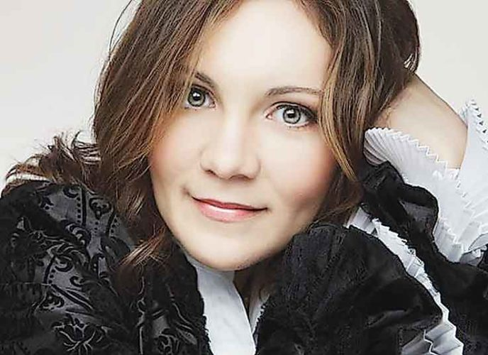 Submitted Photo  World renowned soloist Alina Kiryayeva, will showcase her powerful command of the piano, Monday, March 27, at Ann Nicole Nelson Hall located on the campus of Minot State University at 7:30 p.m.