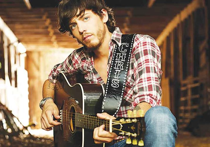 """Submitted Photo Chris Janson looks forward to performing smash hits """"Buy Me a Boat"""" and """"Holdin' Her,"""" Saturday at 4 Bears Casino & Lodge."""