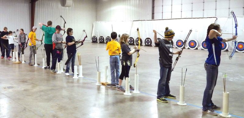 SubmittedPhoto  4-H youth will take their best shots during the Northwest District Archery Tournament, Saturday, at the North Dakota State Fairgrounds.