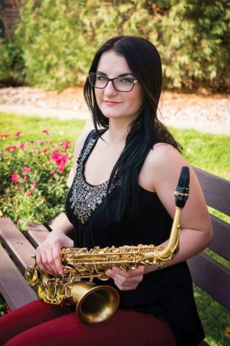 Submitted photo Lindsey Eliasen looks forward to taking music to new heights Saturday night with her solo performance.