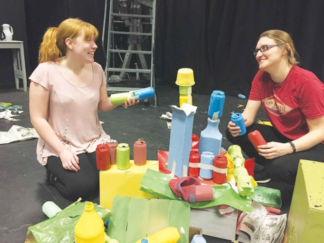 "Submitted Photo Minot State University Theater Arts Department presents ""The Shape of Things,"" tonight through Saturday at 7:30 p.m. in the Black Box Theater at Hartnett Hall, Minot State University."