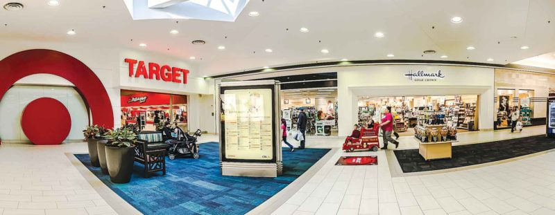 Submitted Photo   Iconic retailers such as Target, Barnes & Nobles, Victoria's Secret, Hallmark Gold Crown, Sears and J.C. Penney are matched with up and coming retailers Ulta Beauty, KJ's Fresh Market, Apricot Lane and Carter's OshKosh B'gosh at Dakota Square Mall.