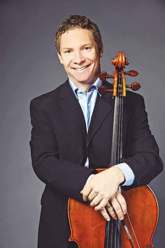 "Submitted Photo Minot State University's principal cellist, Erick Anderson, will perform the most well-known and monumental cello concerto in the repertoire, ""Dvorak's Cello Concerto in B Minor,"" during the Minot Symphony Orchestra's production of ""Storytellers,"" Saturday, April 29."