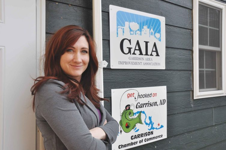 Submitted Photo Lindsay Bofenkamp is the coordinator of the Garrison Area Improvement Association, an organization that strives to keep Garrison the thriving and bustling town that it is.