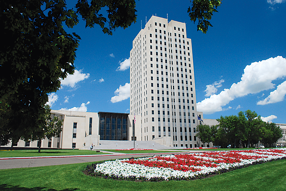 Submitted Photo The State Capitol building in Bismarck is seen here.