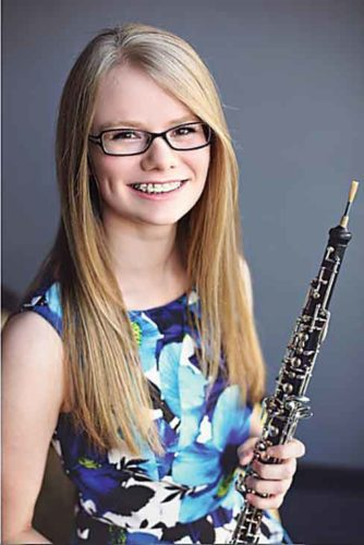 Submitted photo   Kari Jenks, a Minot oboist, has earned the historical honor of becoming North Dakota's first musician to perform at Carnegie Hall, as a member of the NYO2 program.