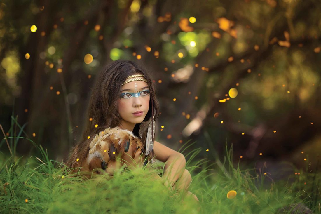 "Submitted Photo  Photographer Kyra Hansen, of Minot, won first place for ""Fireflies"" in the artistic division."
